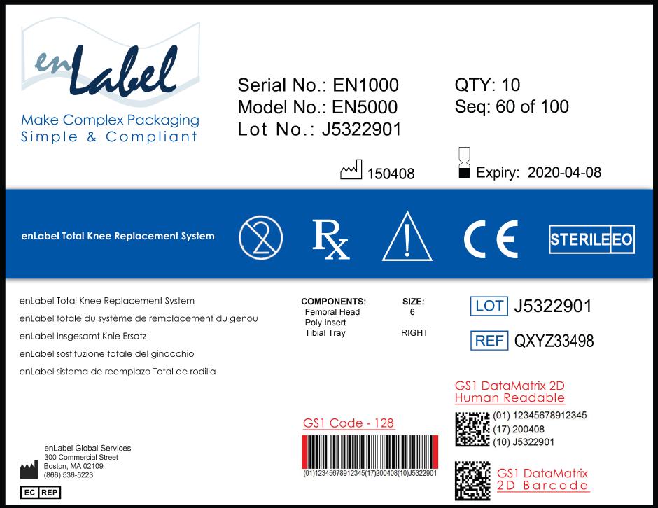 Unique Device Identification - UDI | enLabel Global Services